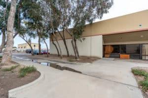 exterior of interior warehouse in Industrial Condominium Unit building for Sale in Oxnard, CA