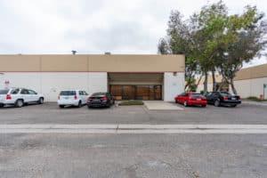 exterior building of interior warehouse in Industrial Condominium Units for Sale in Oxnard, CA
