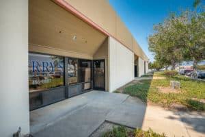 unit entrance of Industrial Condos for Sale in Oxnard, CA