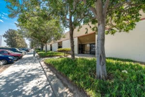 sidewalk and landscaping of Industrial Condos for Sale in Oxnard, CA