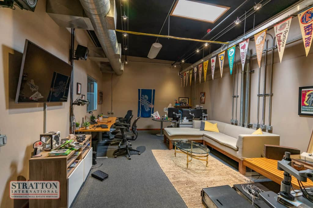 interior office of building for sale or lease in Burbank, CA