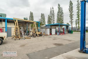 exterior work space for building for sale in Chino, CA