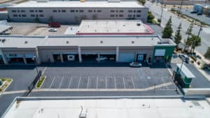 exterior and parking of building for sale in Montclair, CA