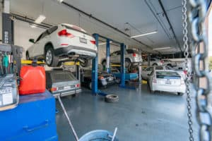 interior automotive space in building for sale in Montclair, CA