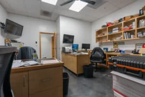 interior office space in building for sale in Montclair, CA