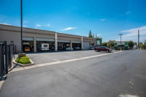 parking and exterior of building for sale in Montclair, CA